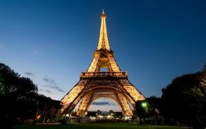 Paris France Eiffel Tower - Anne Koehlinger